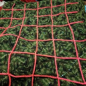 Other - Camo throw blanket